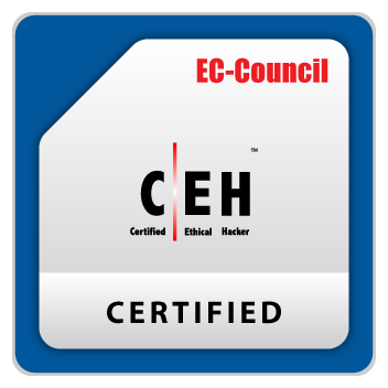 Certified Ethical Hacker badge